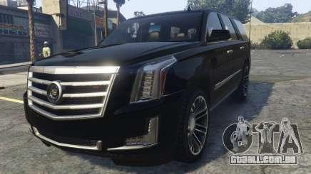 Cadillac Escalade FBI para GTA 5