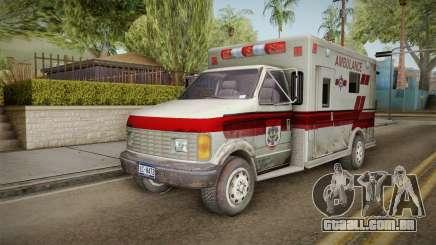 Resident Evil - Ambulance para GTA San Andreas