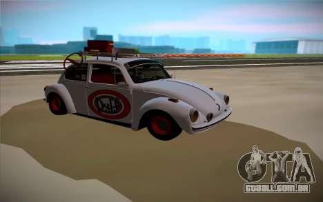 Volkswagen Beetle para GTA San Andreas