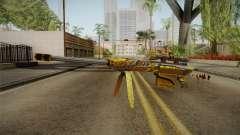 Cross Fire - M82A1 Born Beast Noble Gold para GTA San Andreas