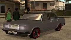 2107 prata para GTA San Andreas