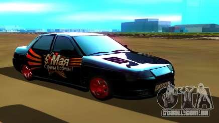 VAZ 2110 preto para GTA San Andreas