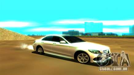Mercedes-Benz C250 para GTA San Andreas