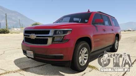Chevrolet Suburban 2016 para GTA 5