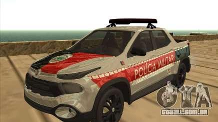 Fiat Toro Police Military para GTA San Andreas
