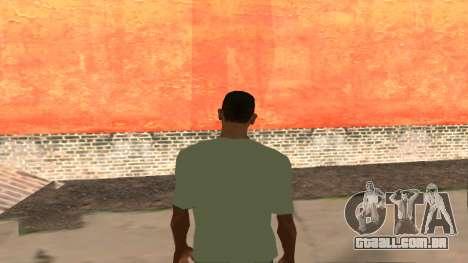 T-Shirt De Fallout para GTA San Andreas segunda tela