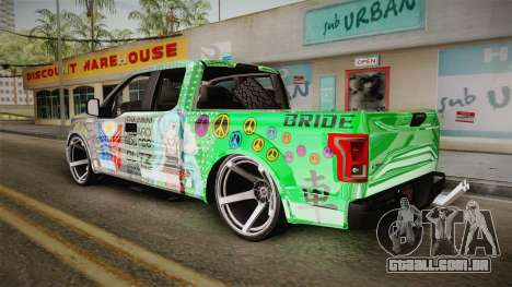 Ford F-350 Livery Philippines para GTA San Andreas