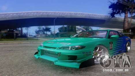 Nissan Silvia S15 Drift Style para GTA San Andreas