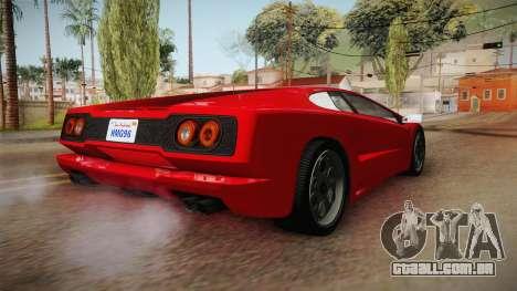 GTA 5 Pegassi Infernus Classic v3 para GTA San Andreas