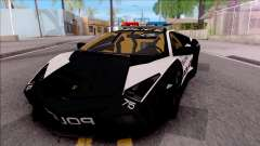 Lamborghini Reventon High Speed Police