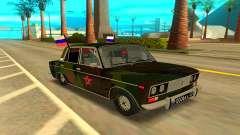 VAZ 2106 turquesa para GTA San Andreas