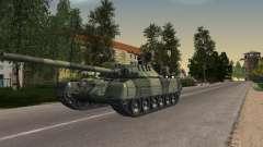 Tanque T-80 para GTA San Andreas