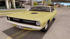 Plymouth Hemi Cuda 440 1970 para GTA San Andreas