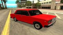 2107 vermelho para GTA San Andreas