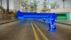 Dark Blue Weapon 1 para GTA San Andreas