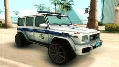 Mercedes-Benz G65 Police para GTA San Andreas