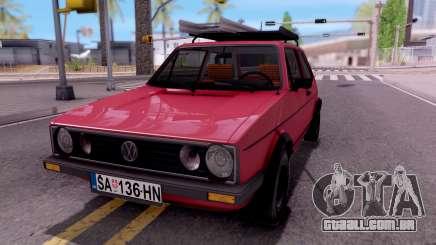 Volkswagen Golf Mk1 Yugoslav para GTA San Andreas
