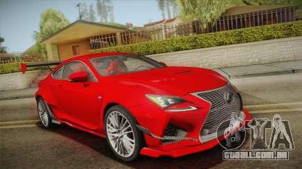 Lexus RC F RocketBunny para GTA San Andreas