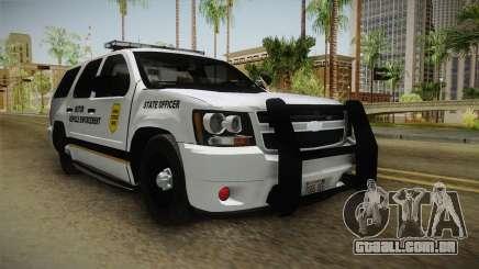 Chevrolet Tahoe 2015 Iowa State MVE para GTA San Andreas