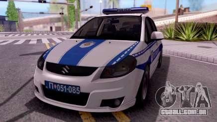 Suzuki SX4 Policija para GTA San Andreas