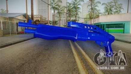 Dark Blue Weapon 3 para GTA San Andreas