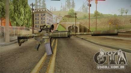 M4A1 CCO SD para GTA San Andreas