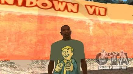 T-Shirt De Fallout para GTA San Andreas