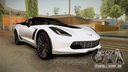 Chevrolet Corvette Stingray Z06 para GTA San Andreas
