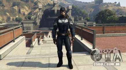 Captain America The Winter Soldier para GTA 5