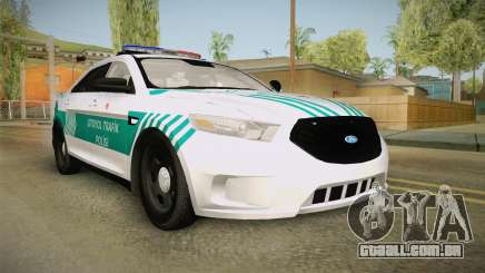 Ford Taurus Turkish Highway Patrol para GTA San Andreas