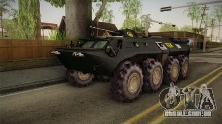 Hungary Police TEK APC para GTA San Andreas