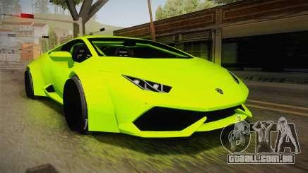 Lamborghini Huracan Rocket Bunny 2014 para GTA San Andreas