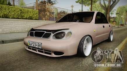 Daewoo Lanos Sedan 2001 para GTA San Andreas