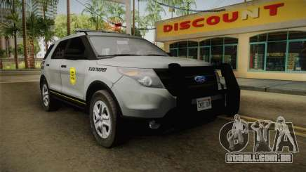 Ford Explorer 2014 Iowa State Patrol para GTA San Andreas