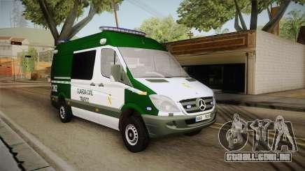 Mercedes-Benz Sprinter GC Trafico Spanish para GTA San Andreas