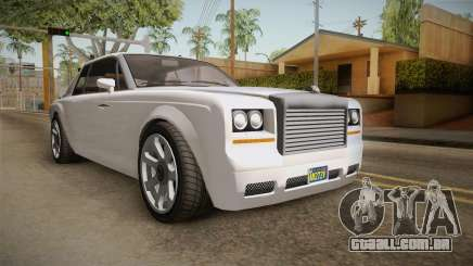 GTA 5 a une Diamante Coupè para GTA San Andreas