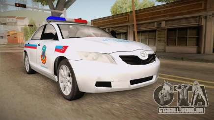 Toyota Camry Turkish Gendarmerie Traffic Unit para GTA San Andreas
