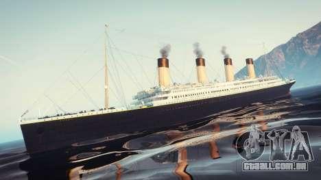 1912 RMS Titanic para GTA 5