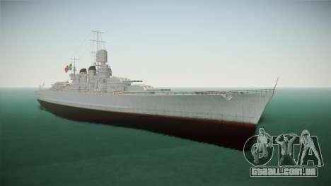 Littorio Class Battleship para GTA San Andreas