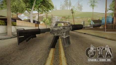 CS:GO - M4A1-S Basilisk para GTA San Andreas segunda tela