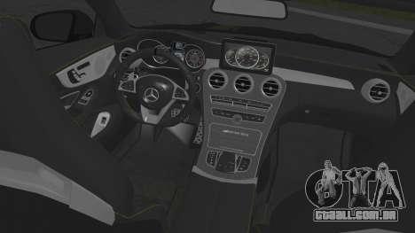 Mercedes-Benz C63 Coupe Edition 1 para GTA San Andreas vista direita