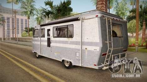 GTA 5 Zirconium Journey Worn IVF para GTA San Andreas esquerda vista