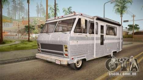 GTA 5 Zirconium Journey Worn IVF para GTA San Andreas traseira esquerda vista