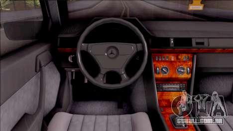 Mercedes Benz E200 W124 Stance para GTA San Andreas