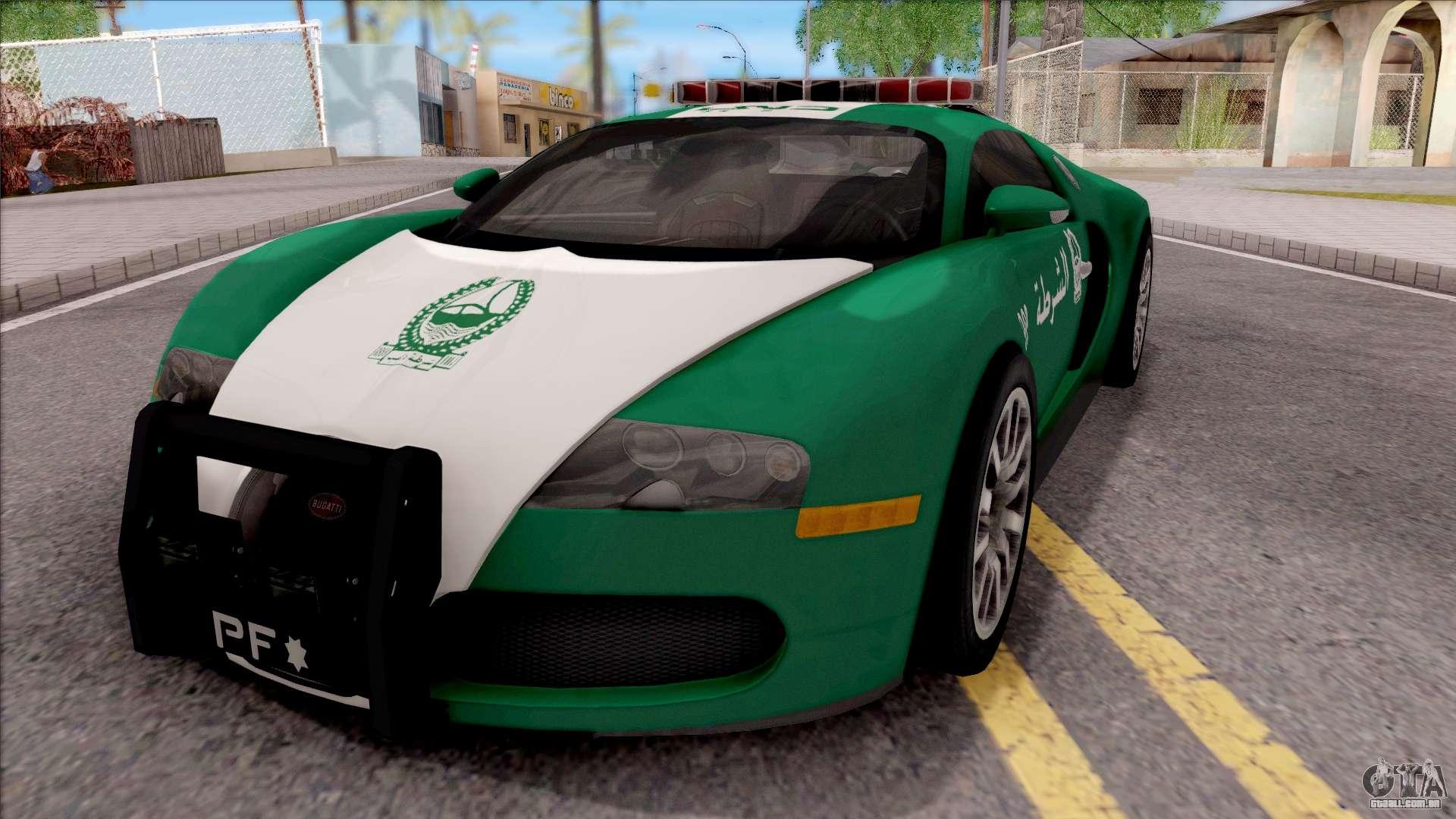 bugatti veyron dubai high speed police para gta san andreas. Black Bedroom Furniture Sets. Home Design Ideas