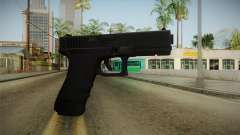 Glock 17 3 Dot Sight Red para GTA San Andreas