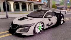 Honda NSX 2017 para GTA San Andreas
