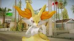 Braixen - Pokken Torneio (Pokemon) para GTA San Andreas