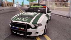 Ford Mustang Shelby GT500 Dubai HS Police