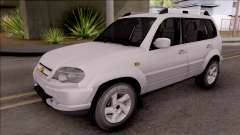 Chevrolet Niva белый para GTA San Andreas